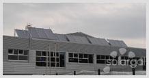 Instalación Solar Térmica para ACS y Piscina Polideportivo (Galicia - A Coruña - Abegondo)