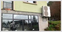 Instalación aerotérmica (Galicia - A Coruña - Boqueixón)
