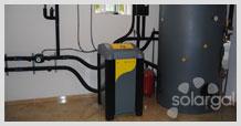 Instalación geotérmica (Galicia - A Coruña - Tordoia)