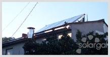 Instalación solar térmica en restaurante O Sombreiro (Galicia- A Coruña- Culleredo)