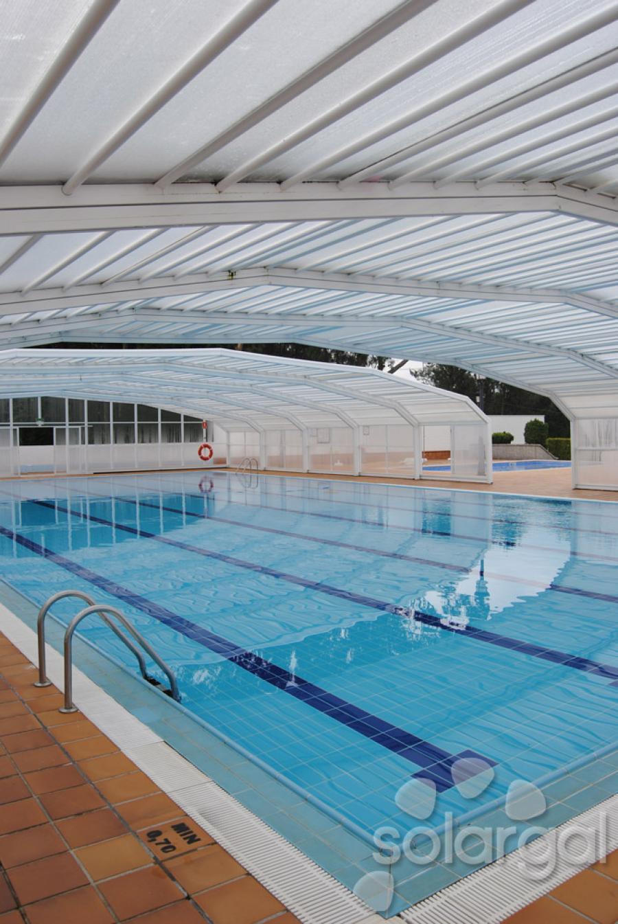 Instalaci n solar t rmica para acs y piscina polideportivo for Piscina polideportivo